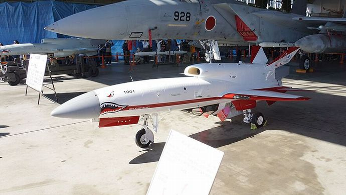 JASDF_UAV(1001)_at_Gifu_Air_Base_October_25,_2016_02