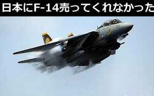 なんで艦上戦闘機F-14「トムキャット」は日本に売ってくれなかったんだ?