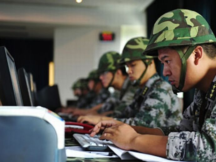 China military to conduct training on digital warfare