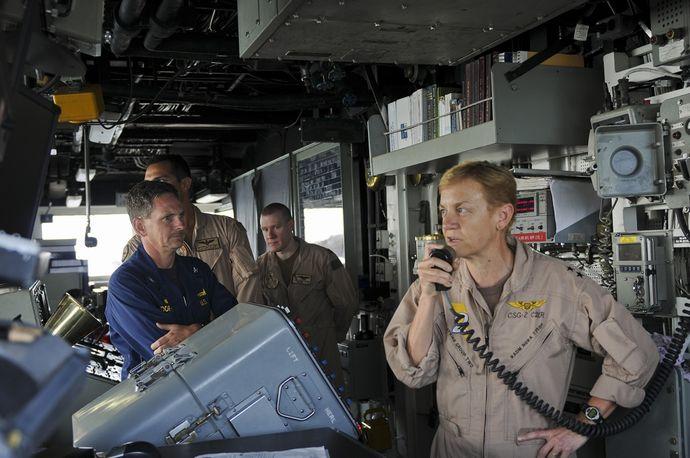 「戦争を起こすのは男。女性がリーダーだったら戦争は起きない」…米第3艦隊新司令官に女性中将を指名!