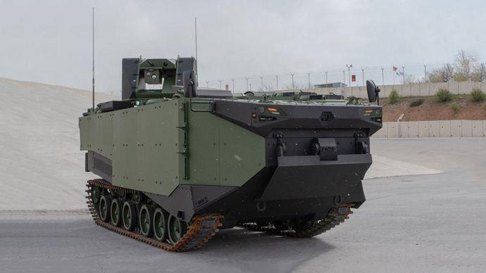 FNSS-ZAHA-Marine-Assault-Vehicle-MAV
