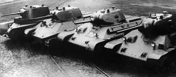 T-34_prototypes