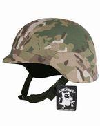 米軍フリッツタイプ ヘルメット Woodland ウッドランド 迷彩 カバー付き フリッツヘルメット M88