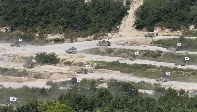 韓国と米軍が「キー・リゾルブ」や「乙支フリーダム・ガーディアン」などの合同軍事演習の名称変更を検討、北への刺激回避か!