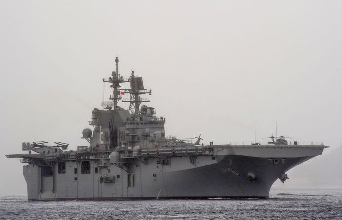USS_America_(LHA-6)_off_Rio_de_Janeiro_in_August_2014