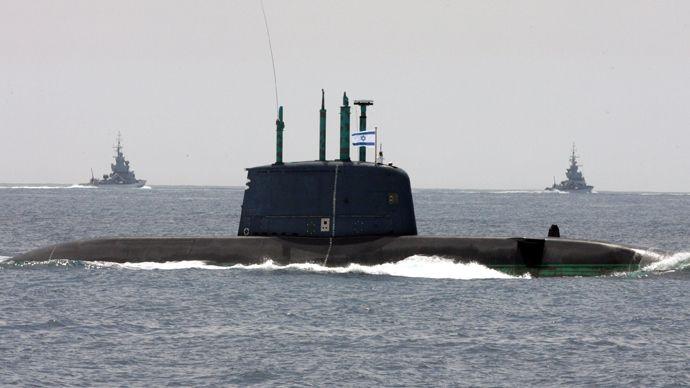 israeli-submarine-strike-syria