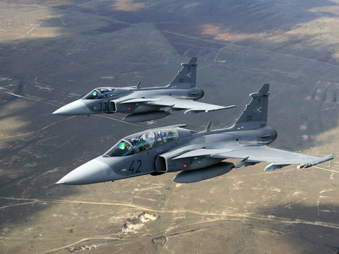 スイス軍の戦闘機「JAS39 ...