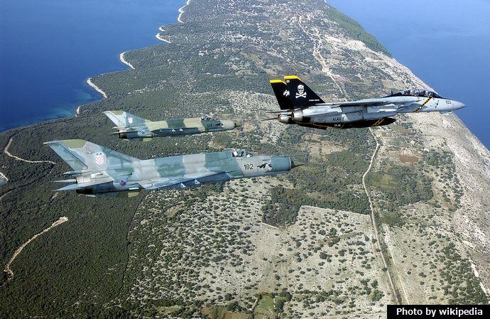 MiG-21bis&F-14B-Croatia-2002-2