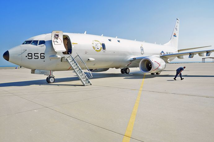 P-8A_Poseidon_of_VX-1_in_2013
