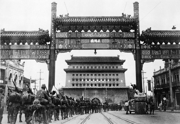 First_pictures_of_the_Japanese_occupation_of_Peiping_in_China