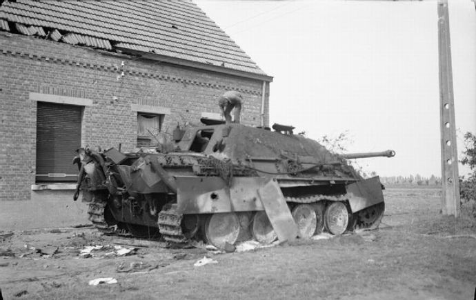 The_British_Army_in_North-west_Europe_1944-45_BU868