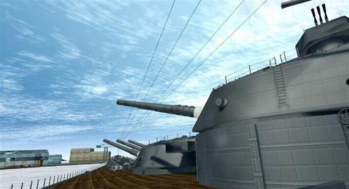 戦艦大和をバーチャルリアリティー(VR)で再現、甲板上を体感…大和ミュージアムで公開!