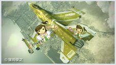 1/72 F-16C F.F.アイドルマスター 双海真美