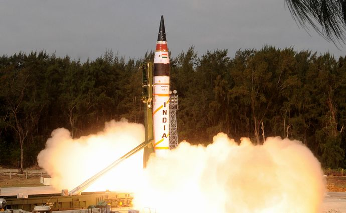 Indias-most-lethal-missile-Agni-V-successfully-test-fired