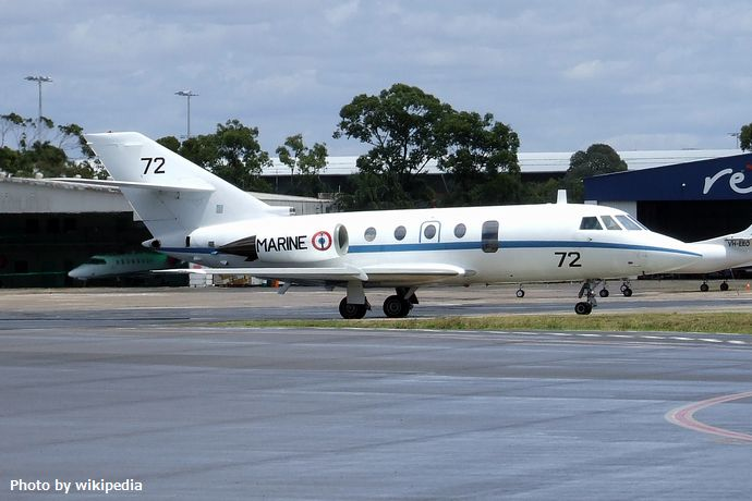 Dassault_Falcon_20_Gardian