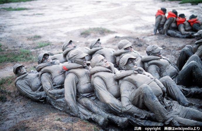 BUDS_trainees_mud