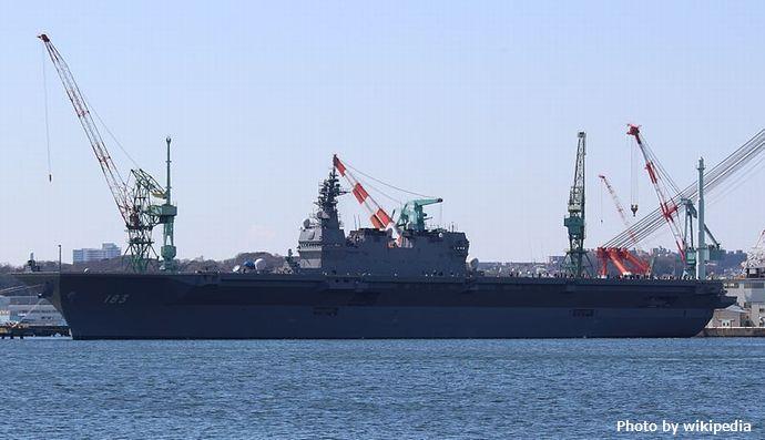 海上自衛隊いずも型護衛艦の「空母化」どう進める…狙いは太平洋の防空強化!