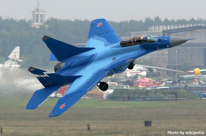 MiG-29K_at_MAKS-2007_airshow