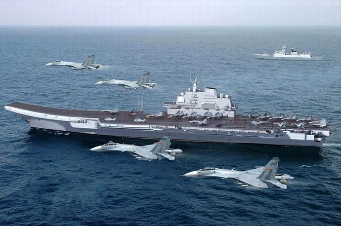 Chinese-aircraft-carrier-Liaoning