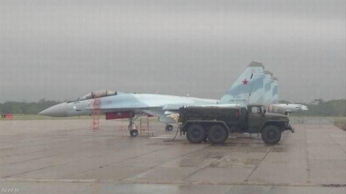 ロシアが北方領土を急激に軍事化、択捉島に現れた新鋭戦闘機スホイ35「撮影ダメ」!