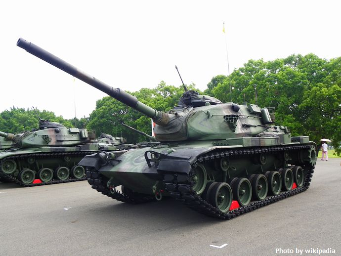 ROCA_M60A3_TTS_Tanks_Display_in_Chengkungling_20111009