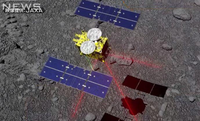 日本の小惑星探査機「はやぶさ2」、りゅうぐうに着陸成功…直径6メートルの円内に降下!