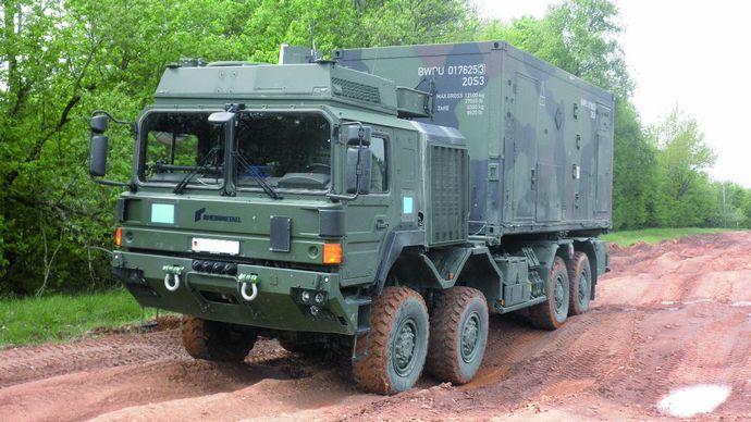 Rheinmetall-HX44M-8×8-Military-Truck