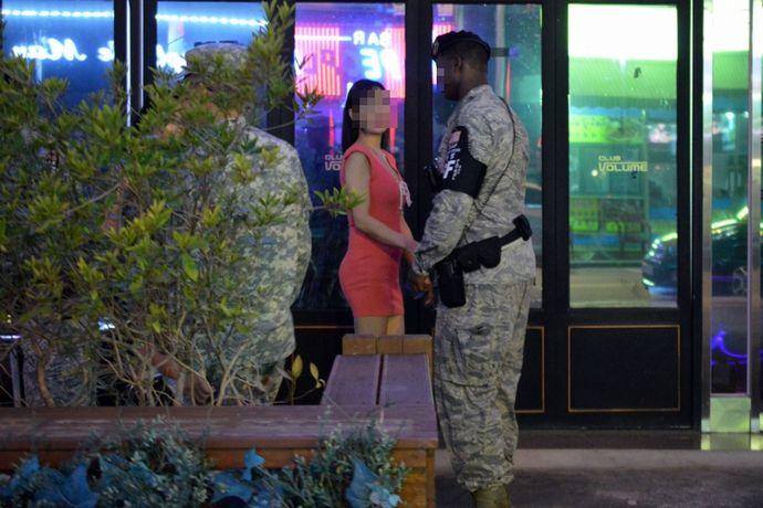 在韓米軍のA兵長(29)がバーバリーマン行為で書類送検…議政府警察署!