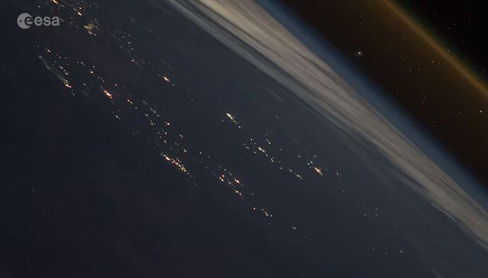 国際宇宙ステーション(ISS)から撮影したロケット発射映像がハリウッド超え!