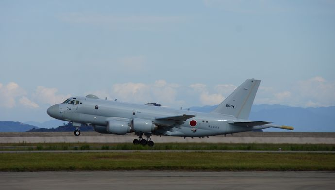 JMSDF_P-1(5506)_which_takes_off_from_Iwakuni_Air_Base_20140914