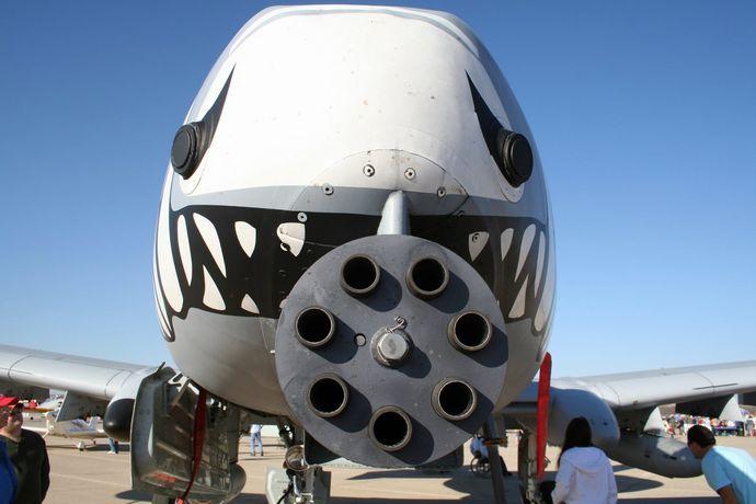 Fairchild_A-10-Gatling_Gun_Closeup