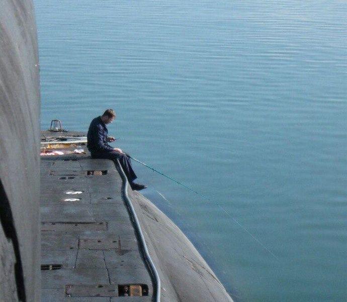 US Navy submarine pool party 5