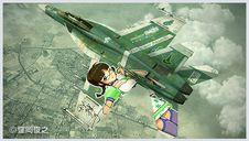 """1/72  F/A-18E/F スーパーホーネット """"アイドルマスター秋月律子"""