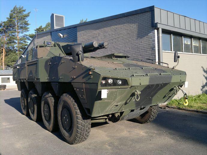 Finnish-Patria-AMV-AMOS-Mortar-2