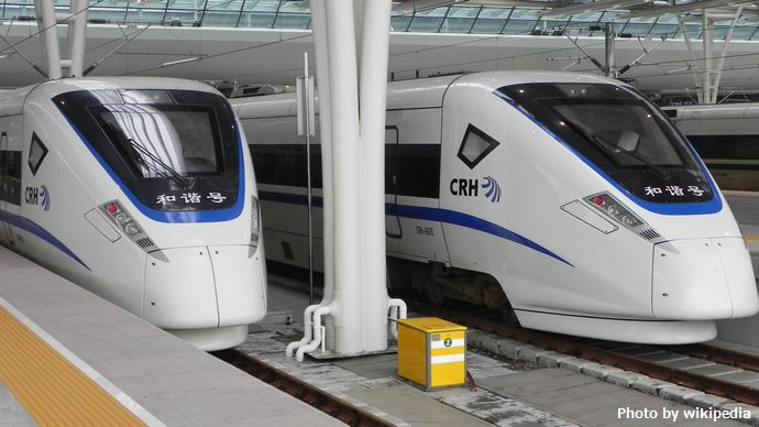 CRH1E_shanghai_Hongqiao_Railway_station2