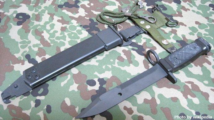 89式小銃用銃剣レプリカ20110302-01