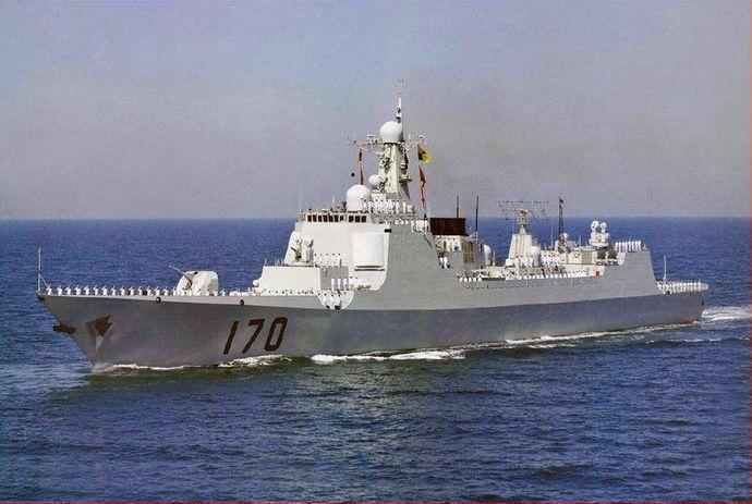 日本とまともに戦える中国の艦艇...