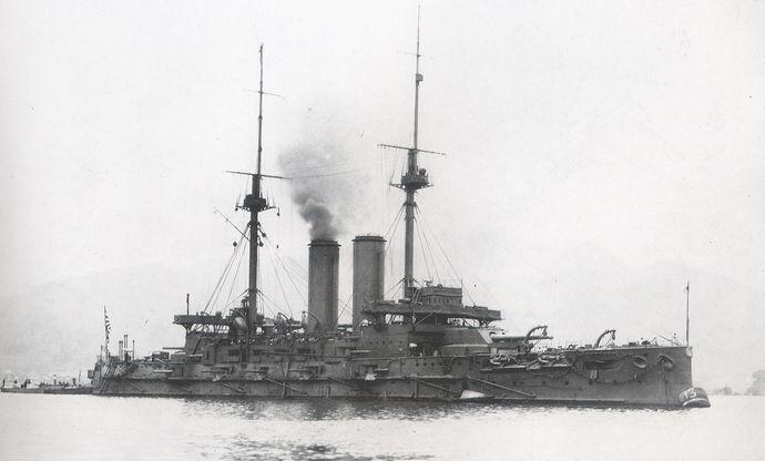 Japanese_battleship_Mikasa