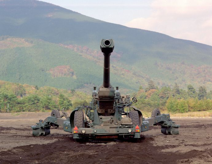 155mm榴弾砲(FH70)_(9361641635)