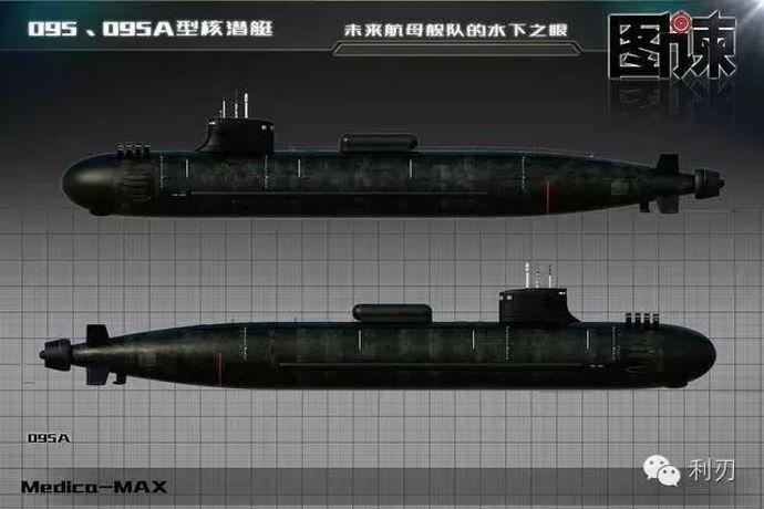 中国海軍の第3世代攻撃型原子力...