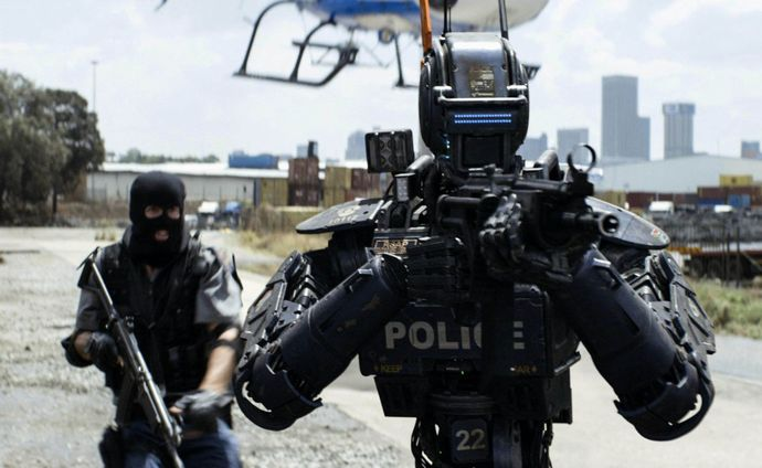 chappie-as-a-police-robot-wallpaper-4101