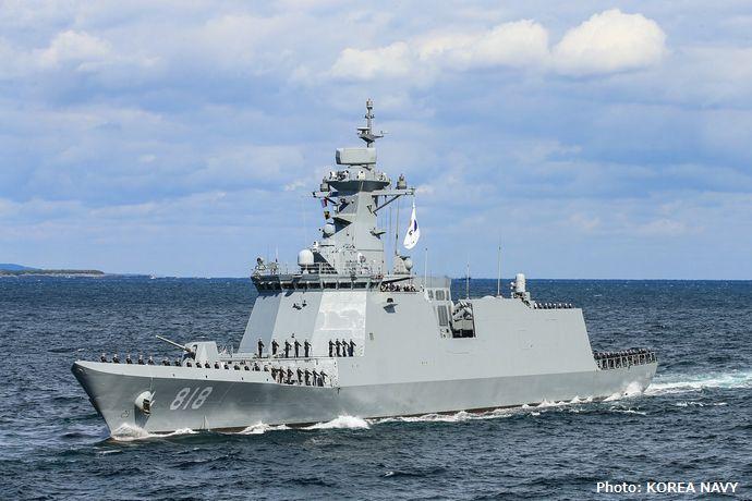 韓国海軍で初めて電力化された新型護衛艦「大邱」、実戦投入5カ月で推進システムが故障!