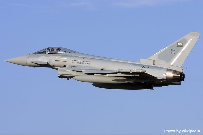 RSAF_Typhoon_at_Malta_-_Gordon_Zammit