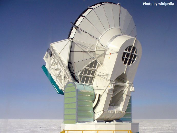 South_pole_telescope_nov2009