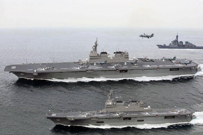 日本の4隻目の航空母艦が完成、出航へ!