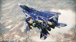 """1/72  F-15E ストライクイーグル """"アイドルマスター2 如月千早"""