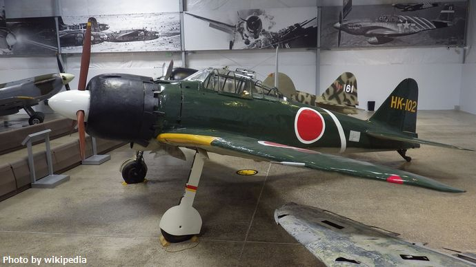 零式艦上戦闘機_五二型_HK-102_Flying_Heritage_Collection