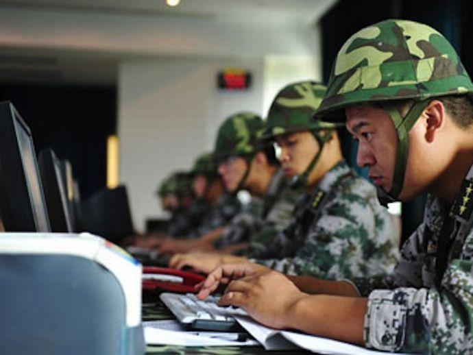 China military to conduct training on digital warfare