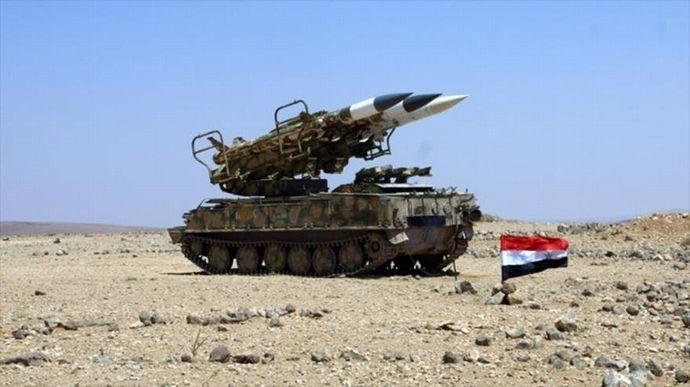 シリア防空部隊がイスラエル軍が発射したミサイルの大部分を撃墜!