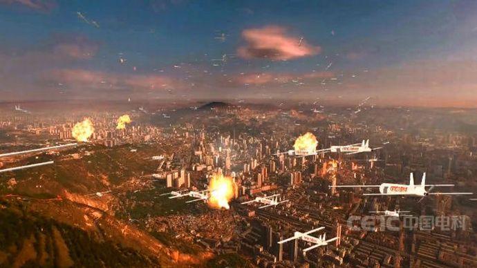 無数のドローンが都市を攻撃する日も…中国でAIが119機のドローンを制御して群集飛行実験を実施!